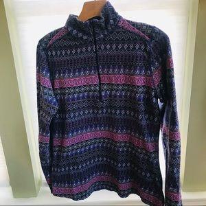 Woolrich women's cotton long sleeve shirt size M